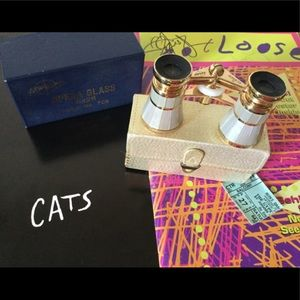 🎼🎬🎫VINTAGE Swift Opera Glass Binocular 708- NWT